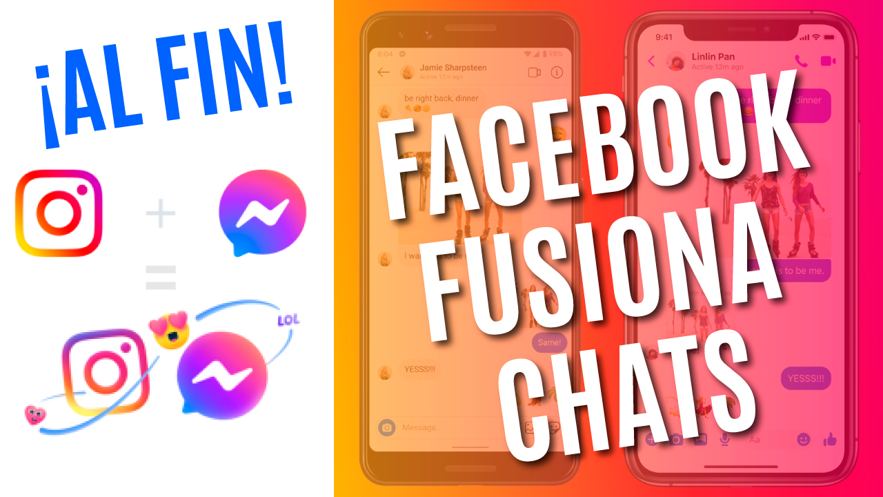 facebook fusiona chats de messenger e instagram nuevo chat de instagram