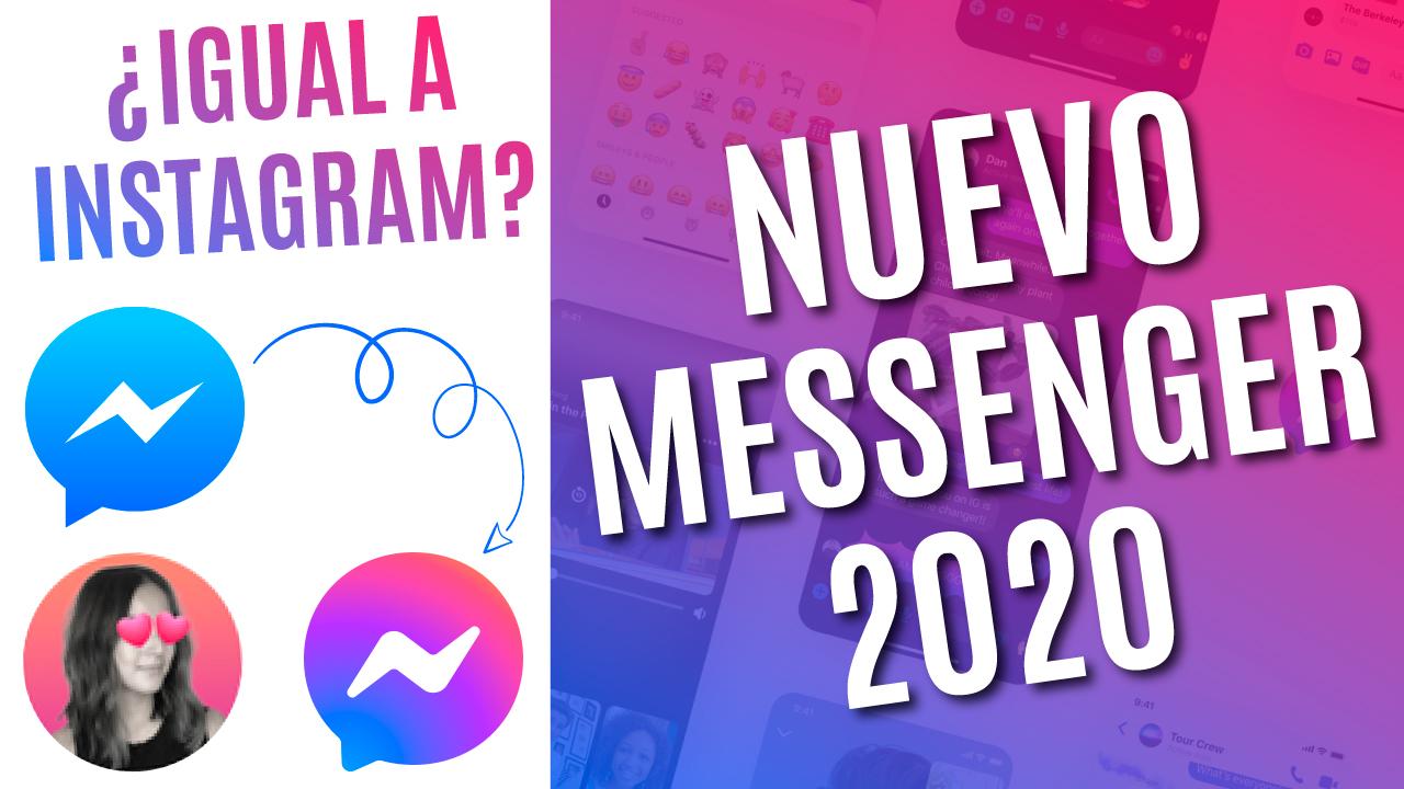 nuevo messenger 2020 actualizar messenger 2020 actualizacion