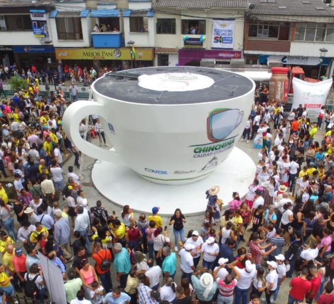 taza de cafe mas grande del mundo